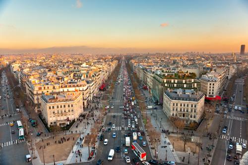 Parijs stad van frankrijk