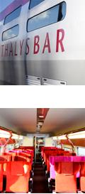 thalys trein barrijtuig
