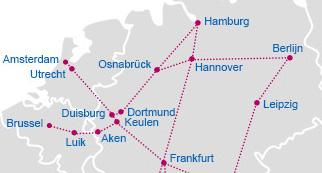 route brussel luik keulen berlijn