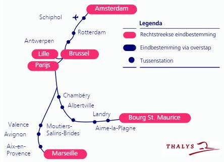 trein thalys antwerpen brussel amsterdam